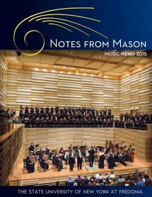 Notes from Mason, 2015 issue - cover