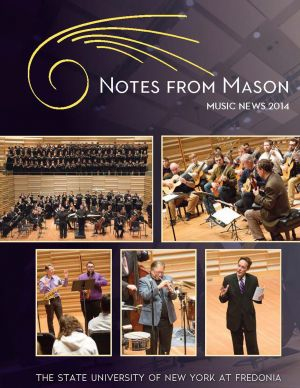 Notes from Mason, 2014 issue - cover