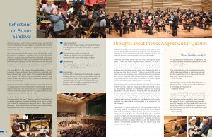 Notes from Mason, 2014 issue - interior spread