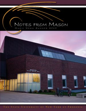 Notes from Mason, 2010 issue - cover