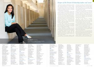 Fredonia College Foundation Annual Report, 2014, interior spread