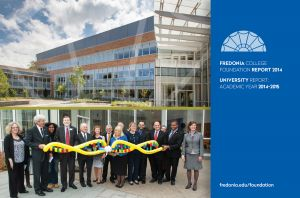 Fredonia College Foundation Annual Report, 2014, postcard