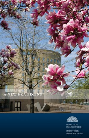 Fredonia College Foundation Annual Report, 2011, cover