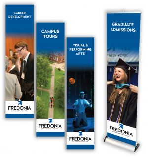 Admissions Floor Displays