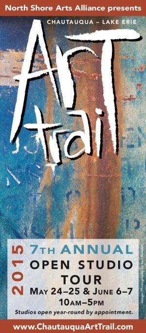 Art Trail brochure, 2015, cover