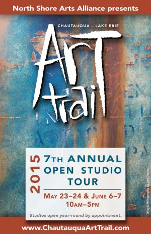 Art Trail poster, 2015