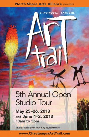 Art Trail poster, 2013