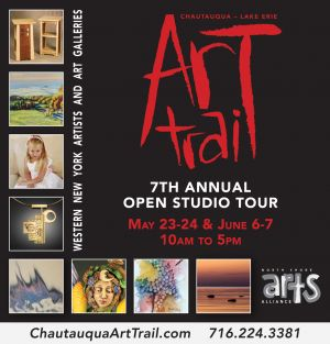 North Shore Arts Alliance Ad, Art Trail feature
