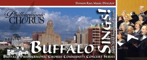 Buffalo Philharmonic Chorus, season mailer, cover