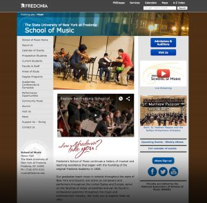 School of Music, State University of New York at Fredonia