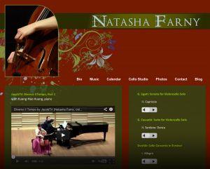Natasha Farny, cellist
